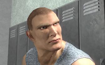 Mikey in Fight Club cutscene