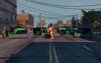SRTT Roadblock - Luchadores level 5 - large