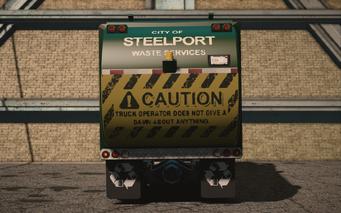 Saints Row IV variants - Steelport Municipal Average - rear