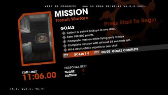 Saints Row Money Shot Mission objectives - Trench Warfare