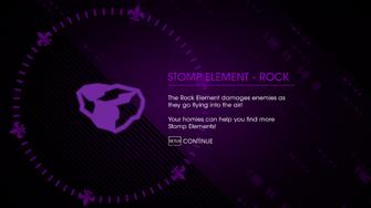 Stomp Element Rock unlocked