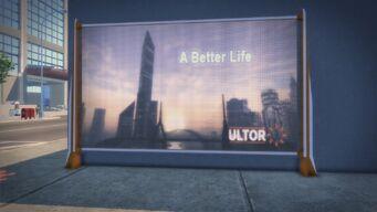 Ultor Billboard Mission Beach
