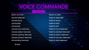 Voice Commands Page 4 - Saints Row IV Re-Elected