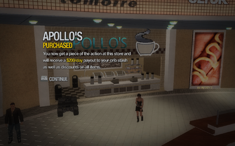 Apollo's in Rounds Square Shopping Center purchased