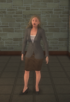 Business female - white - character model in Saints Row 2