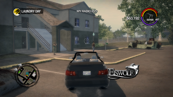 Eiswolf - rear in Saints Row 2