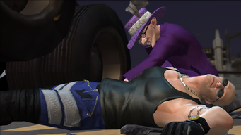 Joseph Price dead in the Loose Ends cutscene