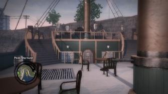Secret Area - Pirate Ship found