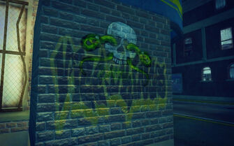 Shivington in Saints Row 2 - Vice Kings Samedi graffiti