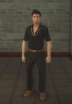 Sykes - character model in Saints Row 2