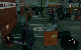 Zombie Attack - inside Rims Jobs without opening door
