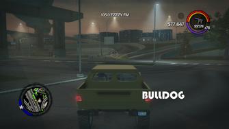 Bulldog - rear with logo in Saints Row 2