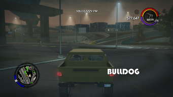 Bulldog - rear with logo in Saints Row 2