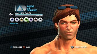 Image As Designed - Eye Color promo for Saints Row The Third