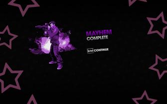 Mayhem complete