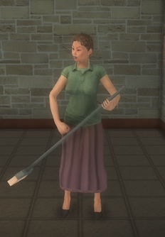 Middle-aged female gen - mid-aged female sweep preset - character model in Saints Row 2