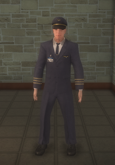 Pilot - white coat Copilot - character model in Saints Row 2