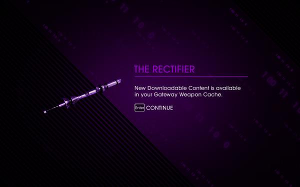 Saints Row IV DLC Unlock - The Rectifier