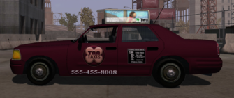 Taxi - left in Saints Row
