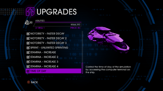 Upgrades menu in Saints Row IV - Page 3 of Abilities