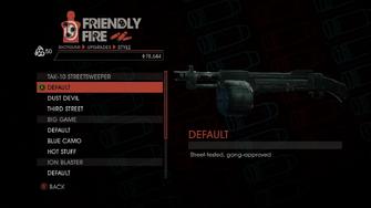 Weapon - Shotguns - Semi-Auto Shotgun - TAK-10 Streetsweeper - Default
