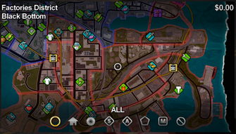 Black Bottom map in Saints Row