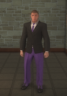 Gang Customization - Bodyguards - male lieutenant 2 - white