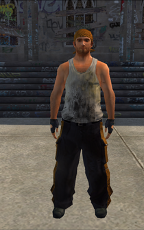 Hijacking - Phil - character model in Saints Row