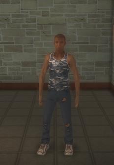 Junky - black male generic - character model in Saints Row 2