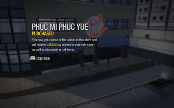 Phuc Mi Phuc Yue in Centennial Beach purchased in Saints Row 2