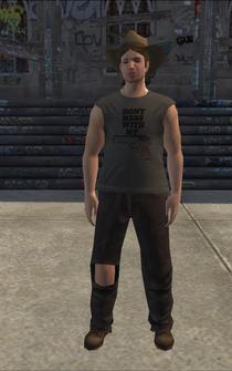 PoorTrash male - PoorWhiteTrash - character model in Saints Row