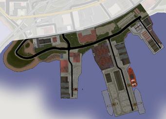 Poseidon Alley - Saints Row map