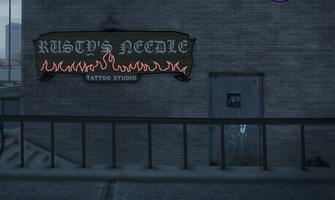 Rusty's Needle - unknown location - back door in Saints Row 2
