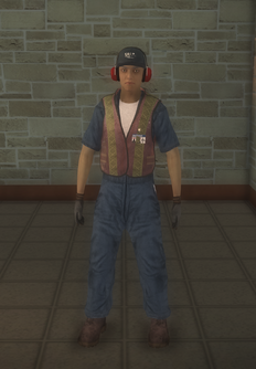 Baggage - hispanic - character model in Saints Row 2