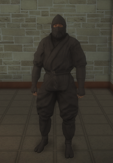 Gang Customization - Ninjas - male lieutenant 1 - black