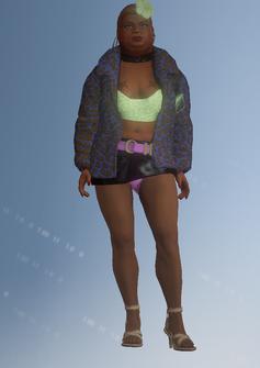 Ho03 - Roberta - character model in Saints Row IV