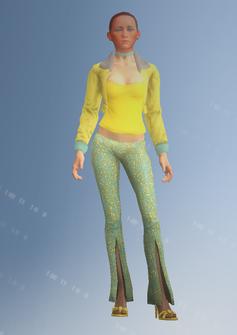 Ho06 - Jill2 - character model in Saints Row IV