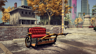 Pony Cart - front right in Saints Row The Third Remastered
