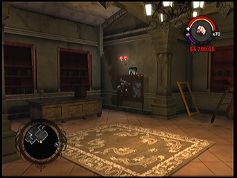 Saints Row Church - Dex room