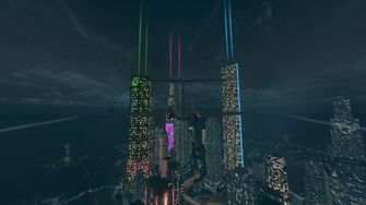 Syndicate skyscrapers Downtown
