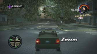 Zircon - rear in Saints Row 2