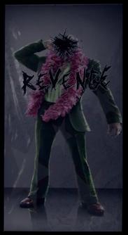 Angel's Gym Revenge Poster of Killbane in suit
