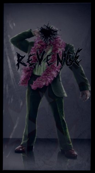 Angel's Gym Revenge Poster of Killbane in suit