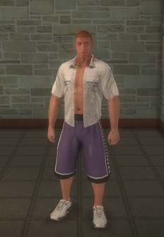 Arena fighter - white - character model in Saints Row 2