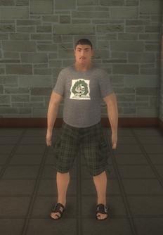 Beach male - asian generic - character model in Saints Row 2