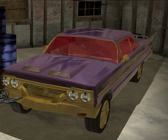 Gang Customization in Saints Row 2 - Compton