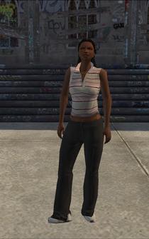 Generic black female - bk5 - character model in Saints Row