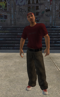 Los Carnales male Thug1-01 - lc10 - character model in Saints Row