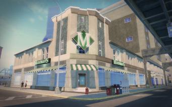 Merhman's exterior