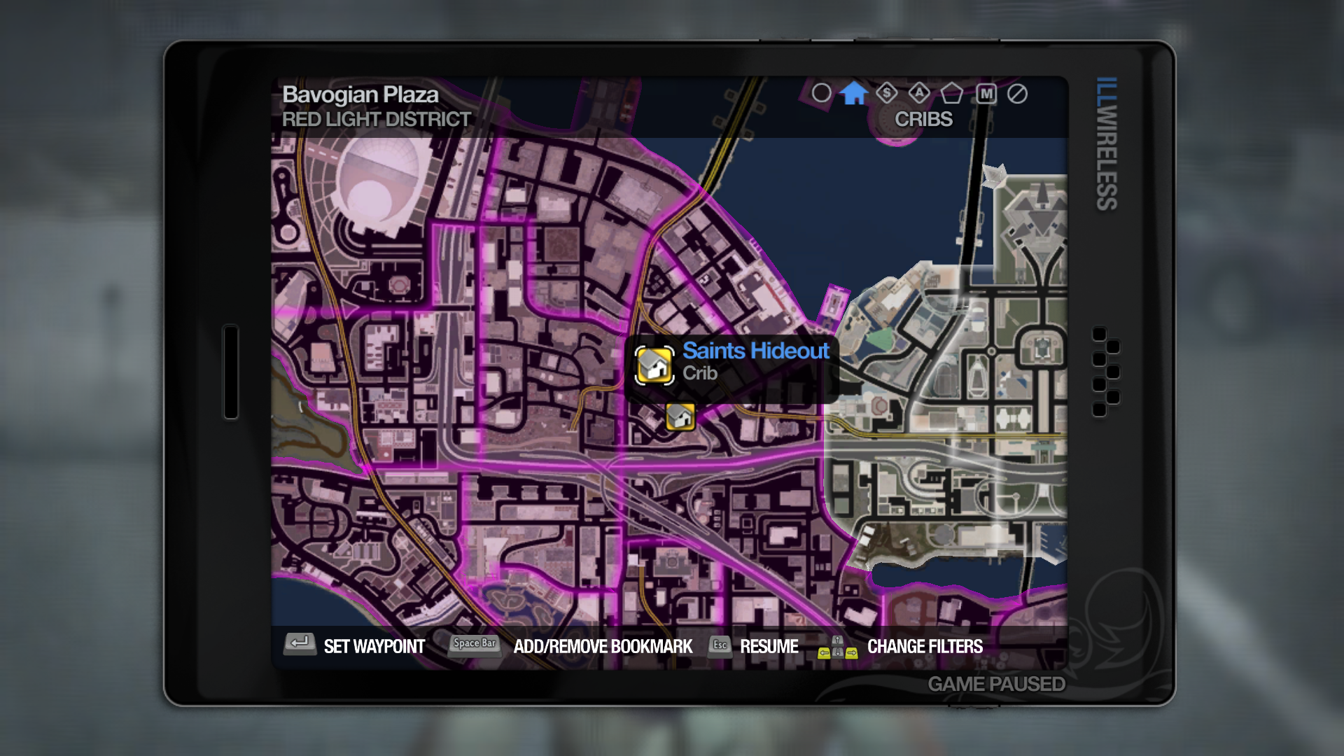 Saints Hideout | Saints Row Wiki | FANDOM powered by Wikia on red dead redemption map full, terraria map full, dying light map full, just cause 2 map full, test drive unlimited 2 map full, gta 4 map full, saints on the map, dota 2 map full, goat simulator map full, far cry 4 map full,